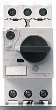 GE (General Electric) - GPS1BHAE - 45mm Rotary Knob Manual Motor Starter, No Enclosure, 0.63 to 1.00 Amps AC