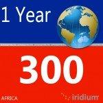 Iridium Global Prepaid Airtime SIM Card (300 Minutes (Africa)) by iridium (Image #1)