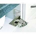 Sink-Front Tip-Out Tray, Euro Hinges - Pair (Zinc) by handyct