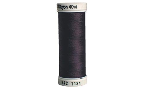 Sulky 942-1131 Rayon Thread for Sewing, 250-Yard, Cloister Brown