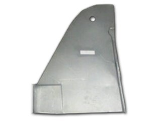 1966-77 Ford Bronco Front Kick Panel (Passenger Side) Classic 2 Current Fabrication 535-033-2