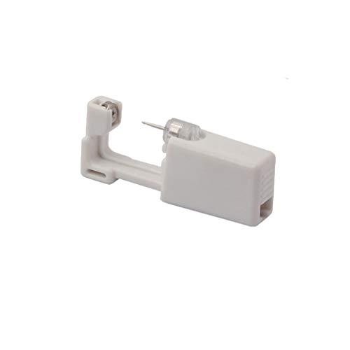 Ear Piercing Gun Disposable Self Ear Piercing Gun Kit Safety Sterile Ear Piercing Gun Kit Tool 2 Pack