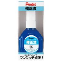 Pentel correction fluid [oily, water-based ink dual] boxed ZL1-WK / 10 set Pentel Correction Fluid