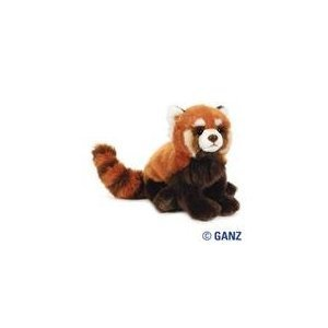 Webkinz Signature Red Panda + Webkinz Bookmark - New with Sealed Tag and Unused Code -  ganz