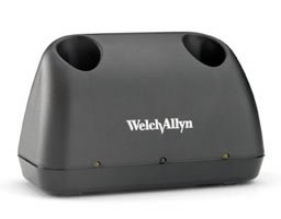 Welch Allyn 71630 Universal Desk Charger, Rechargeable 60 minutes Power Handle, 2 Nickel-Cadmium Batteries, IEC Plug Type-B, 100-240 VAC, 50-60 Hz by Welch Allyn