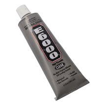 E6000 Glue 3.7 oz Tube-Bag of 24