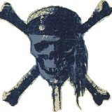 (Blue Mountain Wallcoverings DMM2522 Pirates Self-Stick Mini Wall Mural by Blue Mountain Wallcoverings)