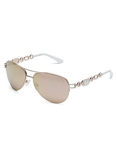 GUESS Factory Chain Aviator Sunglasses