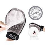 ZoloPaws Dog Grooming Glove Bundle | Convenient Deshedding Pet Hair Remover Brush Glove & Massage Mitt Adjustable Wrist Strap | Perfect for Dogs & Cats | + Bonus Pet Toothbrush Set