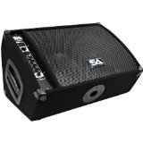 (Seismic Audio FL-10MP-PW Premium Powered 2-Way 10-Inch Active Floor/Stage Monitor with Titanium Horn )