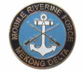 (United States Navy Mobile Riverine Force Mekong Delta Lapel Pin)