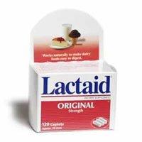 080-02 Lactose-Intolerance Lactaid Caplets 120 Per Bottle by J&J Sales & Logistics Co -Part no. 080-02