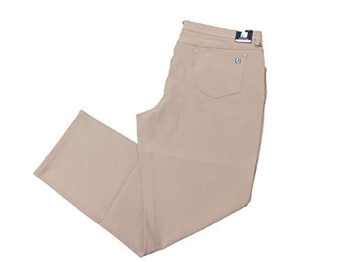 FootJoy Men's Performance Pants Dark Tan 33602 - Size 36x32 (Performance Pant Footjoy)