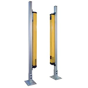 Omron 423380060 Floor Stand, For Use With Safety Light Curtains