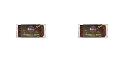 (2 PACK) - Biona Vitality Rye Bread With Sprouted Seeds| 500 g |2 PACK - SUPER SAVER - SAVE MONEY