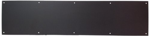 "Don-Jo 90 Metal Kick Plate, Duro Coated, 36"" Width x 8"" Height, 3/64"" Thick"