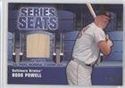 Powell Saddle - Boog Powell (Baseball Card) 2004 Topps - Series Seats Relics #SSSR-BP
