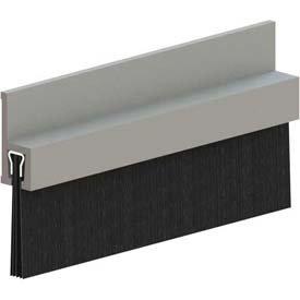 Hager 801s 36'' Mil Brush Door Bottom Sweeps by Hager