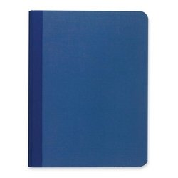 """Roaring Spring Paper Products Canvas Notebook,Narrow Rld,Numbered,60/Shts,9-3/4""""x7-1/2"""",BE"""