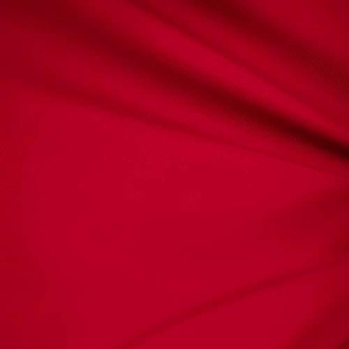 [해외]Red 60 Wide Premium Cotton Blend Broadcloth Fabric By the Yard by Fabric Bravo / Red 60 Wide Premium Cotton Blend Broadcloth Fabric By the Yard by Fabric Bravo