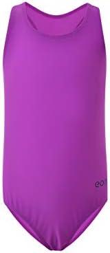 7e061f971 Eono Essentials - Bañador para niña de una pieza (lila