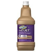 Swiffer WetJet Solution, Wood Floor Cleaner Refill, 33.8 fl oz Pack of 2