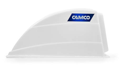 Camco-RV-Roof-Vent-Cover-Opens-For-Easy-Cleaning-Aerodynamic-Design-Easily-Mounts-to-RV-With-Included-Hardware-White-40431