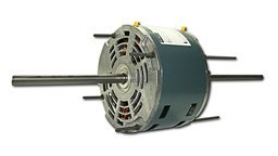 Century Ral1024 (3851) 1/6Hp 115V 1075Rpm Double Shaft Blower Motor (Replaces Fasco D776) ()