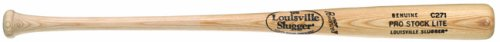 - Louisville Slugger C271 Pro Lite Wood Natural Finish Baseball Bat (29-Inch)