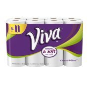 Viva Paper Towels, Choose-A-Sheet, White, 8 Big - Red Big Sheet