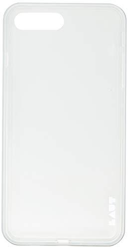Capa Protetora Exo Frame com Película Iphone 7/8 Plus, Laut, Capa Protetora para Celular, Prata