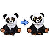 Feisty Pets Black Belt Bobby Plush Stuffed Panda That Turns Feisty with a Squeeze ()