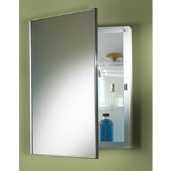 Jensen 614 Basic Styleline Surface Mount Molded Recessed Medicine Cabinet