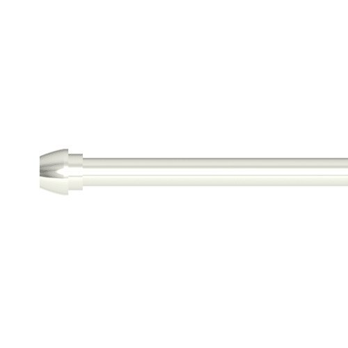 Brasstech 432/15 Supply Tube Bullnose 3/8''X 20'' Polished Nickel