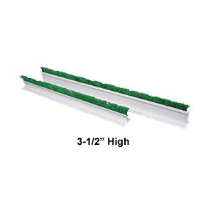 CLARTEC CORP Display Divider w/Parsley Top, 3-1/2'' High - 27'' by CLARTEC CORP