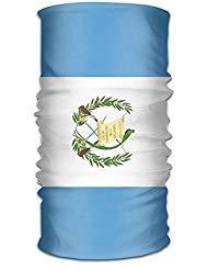 (Shi Fu Guatemala Flag Unisex Outdoor Sport Scarf Headbands Bandana Mask Neck Gaiter Head Wrap Sweatband Headwear)
