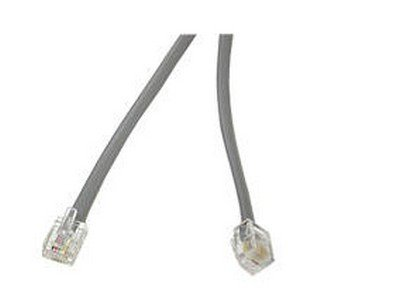 New - 25Ft Rj12 Modular Telephone Cable - 8133