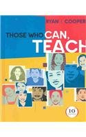 Those Who Can, Teach With Update Cd-rom, Tenth Edition