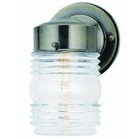 Westinghouse Lighting Corp 66839 AB Jelly Jar Fixture