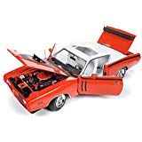 1971 Dodge Charger R/T with Sunroof Orange and White Top (MCACN) Limited Edition to 1002 Pieces Worldwide 1/18 Diecast Model Car by Autoworld AMM1148