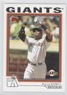 Barry Bonds (Baseball Card) 2004 Topps Traded and Rookies - [Base] #T221