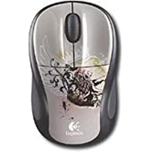 Logitech M305 Wireless Optical Mouse (Silver/Black)