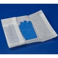1138608 Chemosafety PF Nitrile Glove 400/Ca Medium by ABC Gloves
