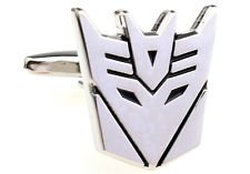 Blazers Proforms Costumes one pair of DECEPTICON CUFFLINKS megatron Wedding Groom Accessories Bride Father Gifts