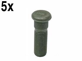 Porsche (all 1965-1998) Wheel hub Stud 45mm bolt (x5 studs)