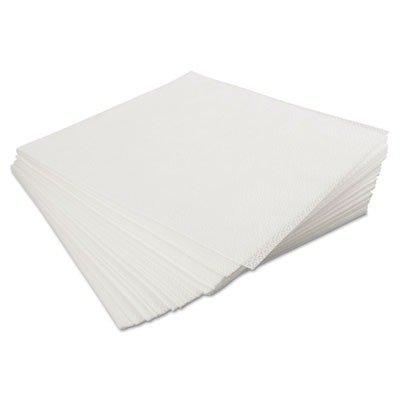 KIMBERLY CLARK CONSUMER 33330 KIMTECH PURE W4 Dry Wipers, Flat, 12 x 12, White, 100/Pack, 5 Packs/Carton