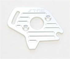 ST Racing Concepts ST6890S Aluminum Heatsink Finned Motor Plate for Slash 4 x 4, Silver