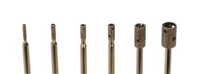 EURO TOOL Diamond Core Drill Bits, Set Of 6 | DIB-500.00