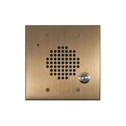 DoorBell Fon DP28 Extra Door Station, 2-Gang Masonry Box Mount, Bronze (DP28-NBZF) by DoorBell Fon