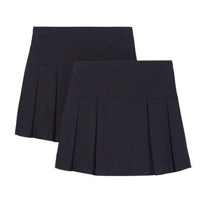 Debenhams Kid's Pack of Two Girls' Navy Kilt School Skirts
